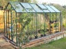 Aluminium Greenhouse 181 - Green, Double Door