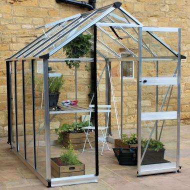 Eden Burford Greenhouse - Silver