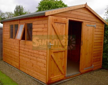 Shiplap Apex Shed 14