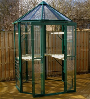 Robinsons Renaissance 6 x 6 Greenhouse - Powder Coated