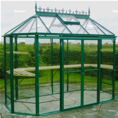 Robinsons Renaissance Large Greenhouse - Powder Coated
