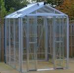 Robinsons Regatta Greenhouse - Grey Finish