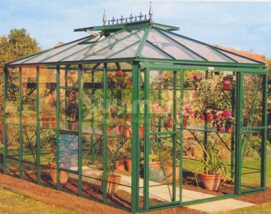 Robinsons Riviera Greenhouse - Hipped Roof