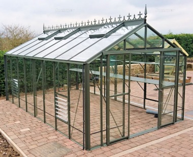 Robinsons Rosette Greenhouse - Powder Coated