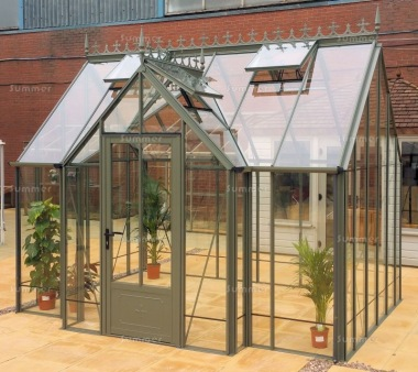 Robinsons Victorian Radley and Rushby Orangery Greenhouses