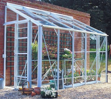 Robinsons Dwarf Wall Lean To Greenhouse
