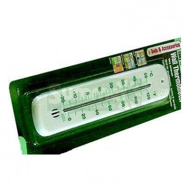 Thermometer 526, White Greenhouse Thermometer
