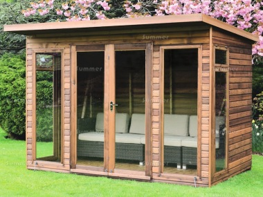 Pent Summerhouse 46