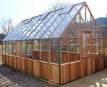 Alton Evolution Victorian Ten - Hybrid Cedar Greenhouse