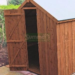 Shed door position