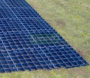 Recycled plastic DIY base kits - 350 tonnes per square metre