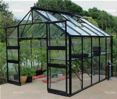 Eden Blockley Greenhouse - Powder Coated