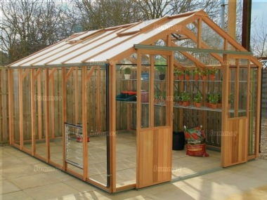 Alton Evolution Ten - Hybrid Cedar Greenhouse