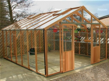 Alton Evolution Twelve - Hybrid Cedar Greenhouse