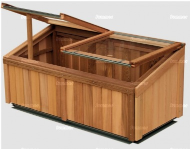 Alton Evolution Cold Frame - Cedar, Side Panels
