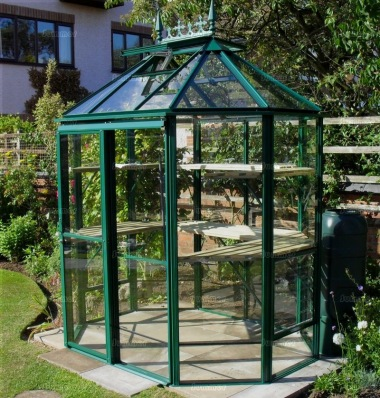 Robinsons Renaissance 8 x 6 Greenhouse - Powder Coated