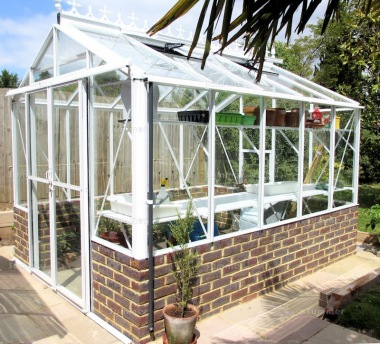 Robinsons Royale Dwarf Wall Greenhouse