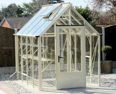Robinsons Victorian Repton Greenhouse - Glass To Ground