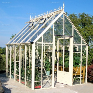 Robinsons Victorian Ratcliffe Greenhouse - Glass To Ground