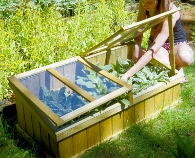 Wooden Cold Frame 480 - Pressure Treated
