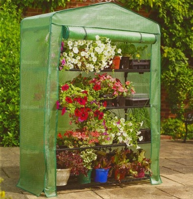Small 4 tier Growhouse 453 - Reinforced Cover