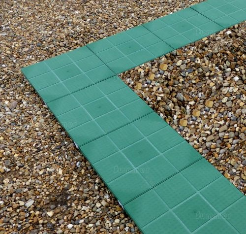 GREENHOUSES - Greenhouse Base - Eco-paving base, 200 tonnes per m2, perimeter only